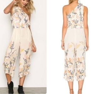 Free People Island Time Rayon Jumpsuit Medium